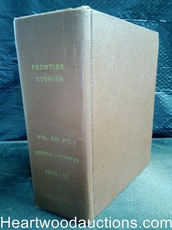 Bound Book of 6 Frontier Stories Spring 1945 to Summer 1946