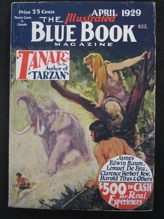 "Blue Book - Ultra High Grade Set of Burroughs - ""Tanar of Pellucidar"""