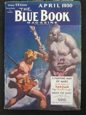 "Blue Book - Ultra High Grade Set of Burroughs - ""Fighting Man of Mars"""