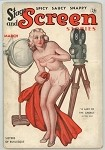 Stage and Screen Stories Mar 1936 RARE, Girlie Pulp Title; GGA Cover Art
