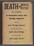 Death of a Bridge Expert by C. C. Nicolet (First UK Edition) File Copy