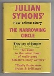 The Narrowing Circle by Julian Symons (First UK Edition) File Copy