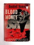 Blood Money by Dashiell Hammett (First Edition)
