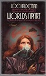 Worlds Apart by Joe Haldeman (First Edition) Signed