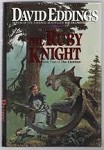 The Ruby Knight by David Eddings (First Edition)