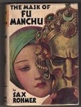 The Mask of Fu Manchu by Sax Rohmer First U.S. ed.