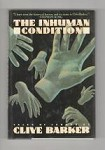 The Inhuman Condition Clive Barker Signed