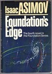 Foundation's Edge by Isaac Asimov (First Edition)