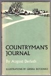 Countryman's Journal by August Derleth (First Edition)