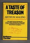 A Taste of Treason by Arthur Maling (First UK Edition) Gollancz File Copy