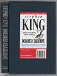 Dolores Claiborne by Stephen King (First Edition) Limited Slipcase