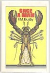 Cage a Man by F. M. Busby (Book Club Edition)