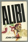 Alibi by John Creasey Thriller Book Club Edition