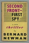 Second Front - First Spy by Bernard Newman (First Edition)