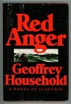 Red Anger by Geoffrey Household (Second Printing)