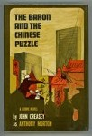 The Baron and the Chinese Puzzle by John Creasey as Anthony Morton (First Edition)