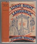 Lord's Right in Languedoc by S. Fowler Wright