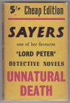Unnatural Death by Dorothy L. Sayers (Cheap Edition)