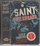 Saint Overboard by Leslie Charteris (First Edition)