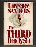 The Third Deadly Sin by Lawrence Sanders (First Edition)