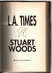 L.A. Times by Stuart Woods (First Edition) Signed