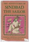 The Adventures of Sindbad the Sailor by Laurence Housman (Mahlon Blaine Art)