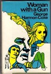 Woman with a Gun by George Harmon Coxe (First Edition)