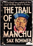 The Trail of Fu Manchu by Sax Rohmer (First Edition)