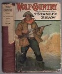Wolf Country by Stanley Shaw (First Edition)