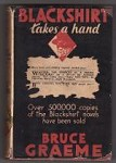 Blackshirt Takes a Hand by Bruce Graeme (First Edition)