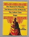 Four Complete Classics by Sax Rohmer (First Edition)