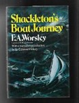Shackleton's Boat Journey by F. A. Worsley, Sir Edmund-Hillary