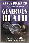 Generous Death by Nancy Pickard (Limited Signed Edition)