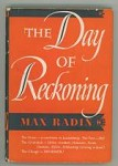 The Day of Reckoning by Max Radin
