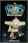 Doctor Who Enlightenment by Barbara Clegg Signed by Mark Strickson