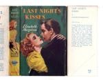 Last Night's Kisses by Elisabeth Margetson (First Edition) File Copy