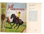 Jill - Riding Mistress by Nesta Grant (First Edition) File Copy