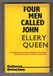 Four Men Called John by Ellery Queen (Jack Vance) 1st UK Gollancz File Copy