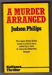 A Murder Arranged by Judson Philips (First UK Edition) Gollancz File Copy