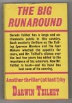 The Big Runaround by Darwin Teilhet (First UK Edition) Gollancz File Copy