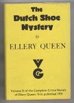 The Dutch Shoe Mystery by Ellery Queen (Gollancz) File Copy