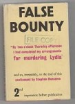 False Bounty by Stephen Ransome (First UK Edition) Gollancz File Copy