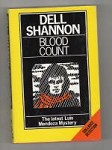 Blood Count by Dell Shannon (First UK Edition)