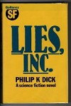 Lies, Inc. by Philip K. Dick (First Edition) Gollancz File Copy