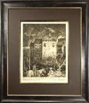 ORIGINAL ART Etching SIGNED Robert Lawson
