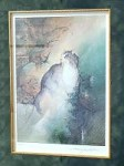 Anne Bachelier CAT ART PRINT Signed FRAMED Limited Edition VIII/C