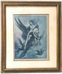 Gustave Moreau ALLEGORY OF THE FABLE Framed Art Print