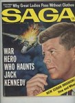 Saga May 1963 Semi nude Hollywood stars, Roger Maris, Valigursky