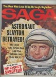 Saga Mar 1963 Robert Engel Cover, Bob Abbett, Ice Hockey