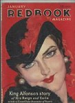 Redbook Jan 1932  McClelland Barclay Cover, Murder At Monte Carlo